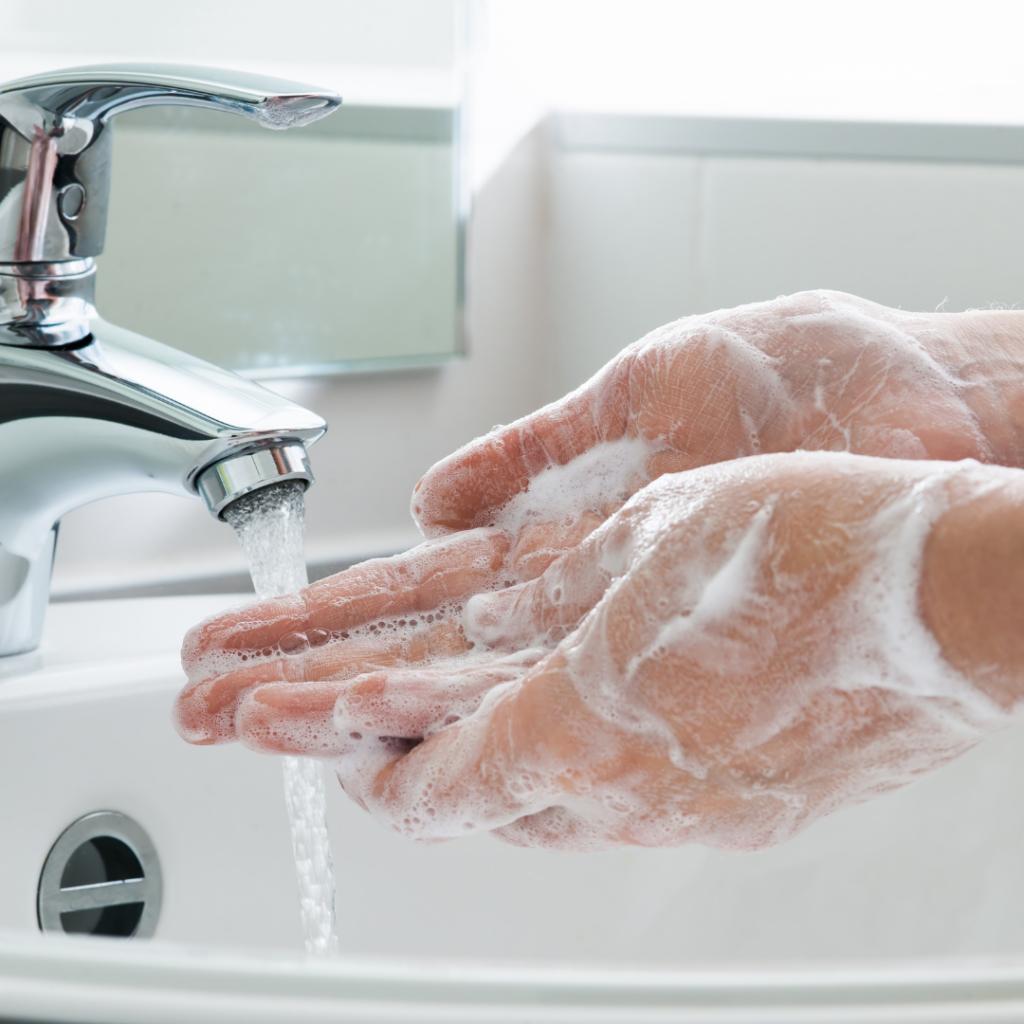 Wash their hands often